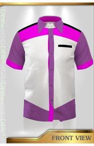 F1 Shirt Male Female Muslimah Shirt, Short Quarter Long Sleeve (5)